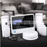 For Residence protection,home alarm system upgraded package,best GSM alarm|wireless alarm system with Pet-friendly detector