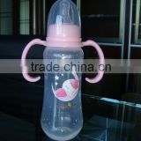 240ml BPA Free with handle PP Baby Feeding Bottle                                                                                                         Supplier's Choice