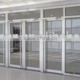 Long hand along with the door,aluminum alloy profile door with DORMA door closer
