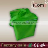 Lime green non woven promotional cooler bag(ITEM NO:C150215)                                                                         Quality Choice
