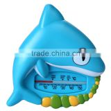 Babymatee Waterproof shampoo baby digital animal shape Baby Bath Thermometer support OEM
