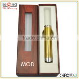 popular mechanical mod magnetic switch gold color and black color stingray mod clone