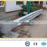 good corrosion highway thrie beam guard rail ,steel used spraying plastic three waves crash barrier for sale