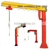 BZ Model electric hoist Jib Crane