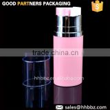 skin toner lotion 50ml airless pump double suction bottle cosmetic