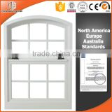 Grill design double glazed shutter aluminum wood top hung window and door                                                                                                         Supplier's Choice