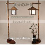Handmade crafts return to Park Chinese bamboo lamp floor lamp / creative personality living room decorative WDLFC-9R