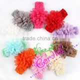 China Supplier Top Baby New Flower Head Bands Accessories Feather Party Hair Band for Girls