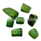 Freshwater Shell Beads, Dyed, Green(BSHE-S007-5)