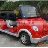 Fiberglass Car Statue for Amusement Park FRP Smart Car
