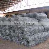 rock fall protection netting as hexagonal wire mesh