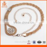 Wholesale jewelry gold filled chain decorative metal chain clothes decorative chain