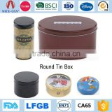 Custom Metal Coffee Tea Tin Can Wholesale Small Mint Screw Top Round Tin Box                                                                         Quality Choice