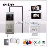 multi storey modular apartment building video door phone intercom system