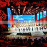 new indoor full color portable and transparent led display rental led curtain