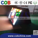 high resolution P10 two face cube led display