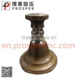 Copper tube spinning (cnc metal spinning kitchen utensil copper pan)Copper pan spinning processing kitchenware spinning tube