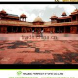 Beautiful Red Slab Tiles Material Sandstone For Sale