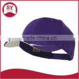 Lovely wholesale mens baseball cap sports cap with inner hat band