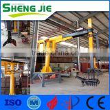 INquiry about 6/8/10/12/15/20 Mt Induction Furnace Slags/Dregs Removal Machine