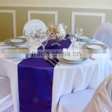 facotry sell high quality satin table runner