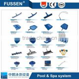 China Durable Standard Swimming pool cleaning equipment aluminium leaf skimmer for cleaning