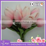 PU Mini Tulip Artificial Flowers for Wedding Decoration Party decor