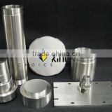 Titanium Target with machining