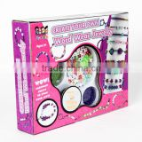 DIY Craft Toy kids beads barcelets Jewelry Kit