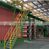 High Quality Fiber cord fabric add tension calendering machine line for rubber coating of fiber cord fabric