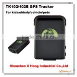 Real-Time Car Person GPS Tracker Car Vehicle GSM GPRS System Spy Device TK102B software gps tracker tk102B micro gps car tracker