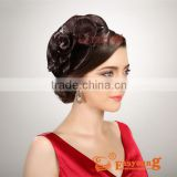 Fashion hairstyle hair accessories, synthetic beauty salon hair product, flower hairpiece for updos