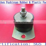"1"" 2"" 3"" 4"" engine damper rubber Vibration M damping mounts with galvanised oval base vibration absorbing mounts"
