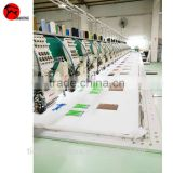 Multi-head embroidery machine with chenille embroidery function