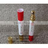 5/10/15ML,metal head plastic tube bottle for eye ,cosmetic bottle for women,skin care cosmetic bottle.