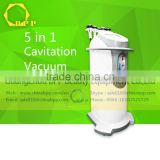 Ultrasonic Contour 3 In 1 Slimming Device RF Vacuum Cavitation Slimming Machine For Wrinkle Removal 5 In 1 Vacuum Cavitation System Body Contouring