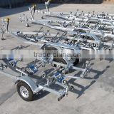 Heavy duty dual or single axel galvanized inflatable rc trucks boat trailer