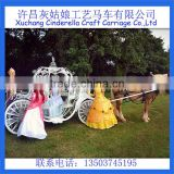 Yizhinuo Wedding cinderella horse-drawn carriage/wagon can be refitted to electric