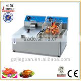 industrial electric double basket deep fat fryer machine