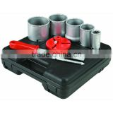 9 Piece Carbide Grit Hole Saw Kit bi-metal hole saw kit