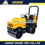 single wheel gasoline walk behind small weight of road roller,single drum gasoline handheld vibratory road roller