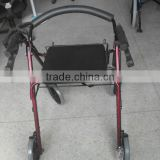 Rehabilitation Therapy Supplies With basket Rollator assist walking