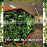 Artificial green grass wall for landscaping entertainment adornment indoor outdoor flooring