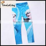 2015 New Arrival Baby leggings girl pants cotton leggings kids leggings sky blue pants