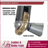 High Quality Embossing Wheels for Leather and Wood