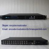 Digital TV Encoder 8xCVBS MPEG-2 Encoder CS-10801 CATV IPTV broadcasting equipment