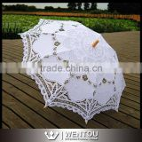 Battenburg Lace Umbrella Wedding Bridal Vintage Lace Parasol
