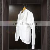 Wholesale High Quality Blank unisex White sweater