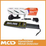 2017 latest Airport Hand-held metal detector body security scanner MCD-3003B1