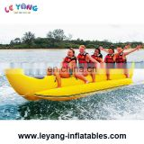 Hot sale towable tube inflatable banana boat / flying water sleds for beach